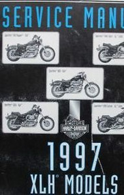 1997 Harley Davidson Sportster MODELS XLH Service Shop Repair Manual FACTORY NEW