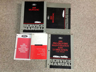 1995 FORD MUSTANG Service Shop Repair Manual Set W EWD + SPECS & PRE DELIVERY