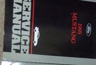 1995 FORD MUSTANG Service Shop Repair Manual FACTORY DEALERSHIP FORD HUGE