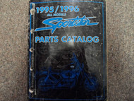 1995 1996 Harley Davidson Sportster Parts Catalog Manual FACTORY x BOOK 95 96