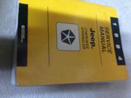 1994 JEEP CHEROKEE & WRANGLER Service Shop Repair Manual DEALERSHIP FACTORY NEW