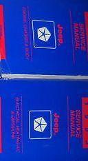 1993 Jeep Wrangler Cherokee Shop Service Repair Manual Set FACTORY 2 VOLUME OEM