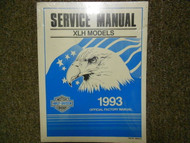 1993 Harley Davidson XLH Models Service Repair Shop Manual Factory OEM Brand New