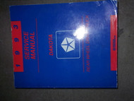 1993 DODGE DAKOTA TRUCK Service Repair Shop Manual FACTORY DEALERSHIP