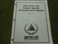 1991 Arctic Cat Prowler Special Illustrated Service Parts Catalog Manual OEM