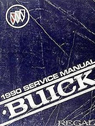 1990 BUICK REGAL Factory Service Shop Repair Manual SET W 3800 ENG SUPPLEMENT