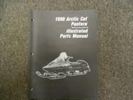 1990 Arctic Cat Pantera Illustrated Parts Catalog Manual OEM 90 Book x