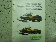 1989 Arctic Cat Cougar Cheetah Touring Service Repair Shop Manual FACTORY OEM x
