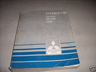 1988 Mitsubishi Precis Service Repair Shop Manual Oem
