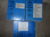 1988 Ford F-150 F250 F-250 350 Bronco Truck Service Shop Repair Manual Set OEM