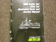 1988 Arctic Cat Kitty Cat Illustrated Service Parts Catalog Manual FACTORY OEM X