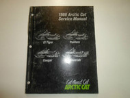 1988 ARCTIC CAT El Tigre Pantera Cougar Cheetah Service Shop Repair Manual x OEM