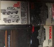 1987 FORD RANGER & BRONCO II TRUCK Service Shop Repair Manual W EWD & PCED WOW