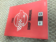 1986 Chevrolet Chevy CORVETTE Service Shop Repair Manual BRAND NEW REPRINT