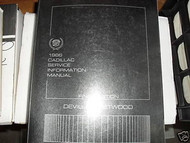 1986 Cadillac DEVILLE FLEETWOOD Repair Service Shop Manual Final Edition W BODY