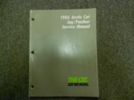 1986 Arctic Cat Jag Panther Service Repair Shop Manual FACTORY OEM BOOK 86 X