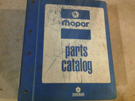 1986 1987 Dodge Chrysler Light Duty Models Parts Catalog Binder Manual FACTORY