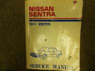 1984 84 NISSAN SENTRA 1st Revision Service Repair Shop Manual Factory OEM