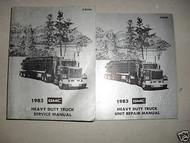 1983 GMC Heavy Duty Truck Service Repair Shop Manual Set 83 DIESEL FACTORY OEM