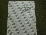 1981 Arctic Cat Trail Cat Illustrated Parts Catalog Manual Book FACTORY OEM x