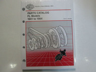 1981 1982 1983 1984 Harley Davidson FL Parts Catalog Manual Factory Book OEM