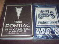 1980 PONTIAC FIREBIRD TRANS AM Service Shop Repair Manual SET FACTORY GM x OEM
