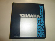 1980 1984 Yamaha Tech Update Warranty Newsletter Technical Education Manual OEM