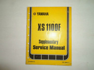1979 Yamaha XS 100F Supplementary Service Manual FACTORY OEM BOOK 79 STAINED