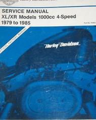 1979 1980 1981 1982 Harley Davidson XLH XL XR 1000 Models Service Shop Manual