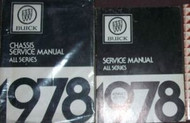 1978 Buick CENTURY ELECTRA ESTATE WAGON Service Repair Shop Manual SET 2 VOLUME