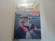 1977 78 79 80 81 82 83 1984 Clymer Suzuki 2-140 HP Outboard Shop Manual