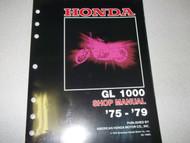 1977 1978 Honda GL1000 GL 1000 GOLDWING GOLD WING Service Repair Shop Manual NEW