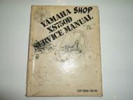 1976 Yamaha XS750D Service Repair Shop Manual FACTORY OEM BOOK 76 WORN