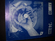 1974 PONTIAC FIREBIRD TRANS AM GRAN PRIX VENTURA CATALINA Service Shop Manual x