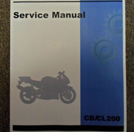 1973 HONDA CB200 CL200 Service Shop Repair Manual FACTORY OEM BRAND NEW