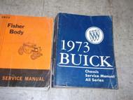 1973 Buick CENTURY ELECTRA 225 LUXUS REGAL Service Repair Shop Manual SET HUGE