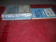 1972 FORD LINCOLN MERCURY CAR CARS Service Shop Repair Manual Set DEALERSHIP OEM