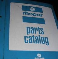 1972 DODGE Light & Heavy Duty TRUCKS TRUCK Parts Catalog Manual Factory OEM