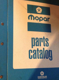 1972 1973 Chrysler Dodge Mopar Plymouth Light Truck Parts Catalog Binder Manual