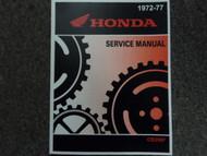1972 1973 1974 1975 1976 HONDA CB350F 400F 400 F Service Shop Repair Manual 77