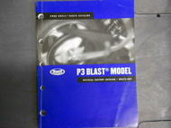 2006 Buell P3 P 3 Blast Parts Catalog Manual BOOK FACTORY NEW