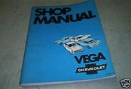 1970 GM Chevrolet Chevy Vega Service Repair Shop Workshop Manual OEM