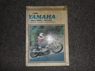 1970 1975 1982 Clymer Yamaha 650cc Twins Service Repair Maintenace Manual X