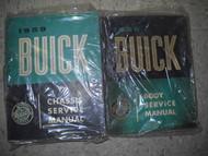 1959 Buick ELECTRA INVICTA LESABRE Shop Repair Service Manual Set FACTORY 59