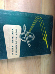 1954 Oldsmobile Olds Maintenance Service Shop Repair Manual OEM 54 FACTORY BOOK