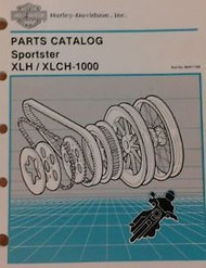 1954 1955 1956 1957 Harley Davidson XLH XL XLCH Sportster Parts Catalog Manual