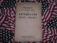 1941 Caterpillar Diesel Engine Reference Book Manual