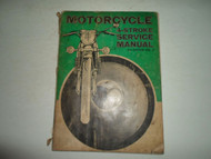 1973 Motorcycle Harley BMW 4 Stroke Service Manual VOL 2 3rd Edition DAMAGED