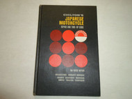 1969 Chiltons Japanese Motorcycle Repair & Tune Up Guide Manual DEALERSHIP 69