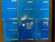 2006 Mazda5 Mazda 5 Service Repair Shop Manual 6 VOLUME SET FACTORY OEM BOOKS